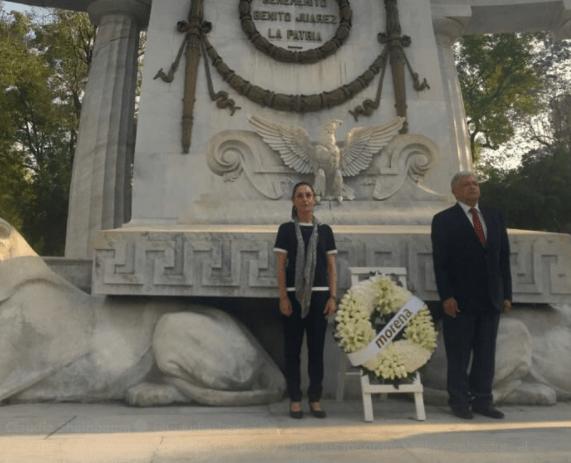 Gobernabilidad en las campañas pide Sheinbaum a relevo de Mancera
