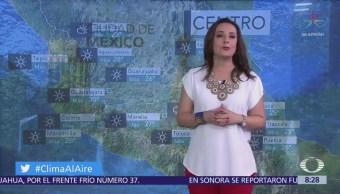 Clima Al Aire: Pronostican lloviznas dispersas en Valle de México