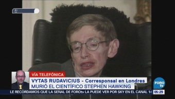 Comunidad internacional lamenta la muerte de Stephen Hawking
