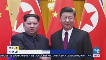Confirman Reunión Kim Jong Un Xi Jinping China