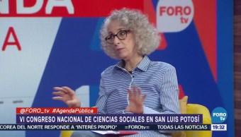 Congreso de Ciencias Sociales la mesa con Marta Lamas