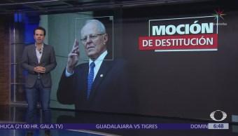 Congreso de Perú volverá a debatir destitución de Kuczynski