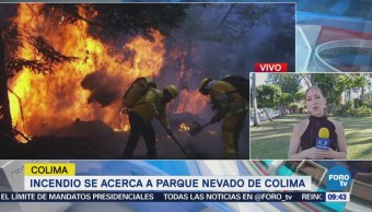 Controlan Incendio Parque Nevado De Colima