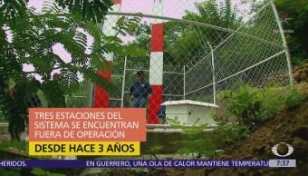 Crimen organizado afecta funcionamiento de la alerta sísmica de México