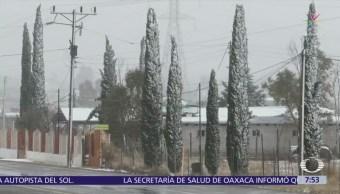 Cuarta tormenta invernal provoca nevadas en Sonora