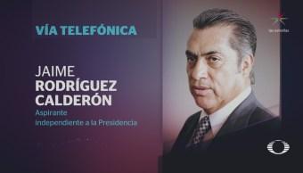 Denise Maerker entrevista a Jaime Rodríguez Calderón