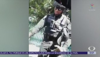 Denuncian abuso policial en Vasco de Quiroga, CDMX
