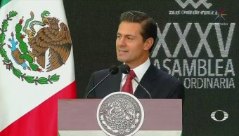Desarrollo del país, en juego en elección del 1 de julio: EPN