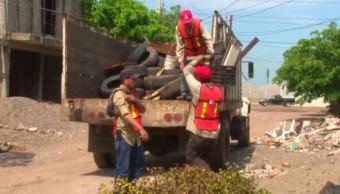Arranca en Mazatlán la primera campaña de descacharrización para combatir dengue