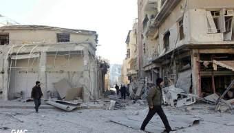 OMS: Siria sacó 70% del material médico del convoy que entró en Guta