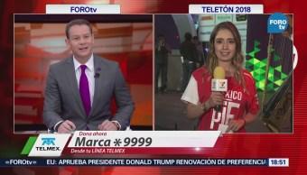 Detallan Pruebas Sonido Frontón México Teletón