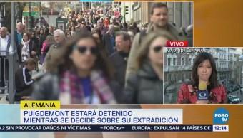 Detención Carles Puigdemont Desencadena Protestas Cataluña