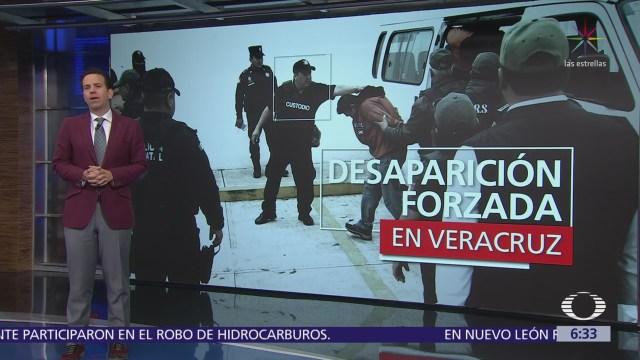 Detienen a 6 elementos de Seguridad Pública en Veracruz por desaparición forzada