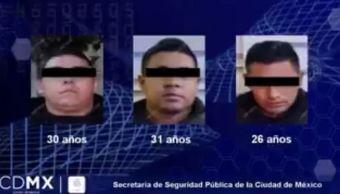 Detienen a banda de robo de autopartes CDMX