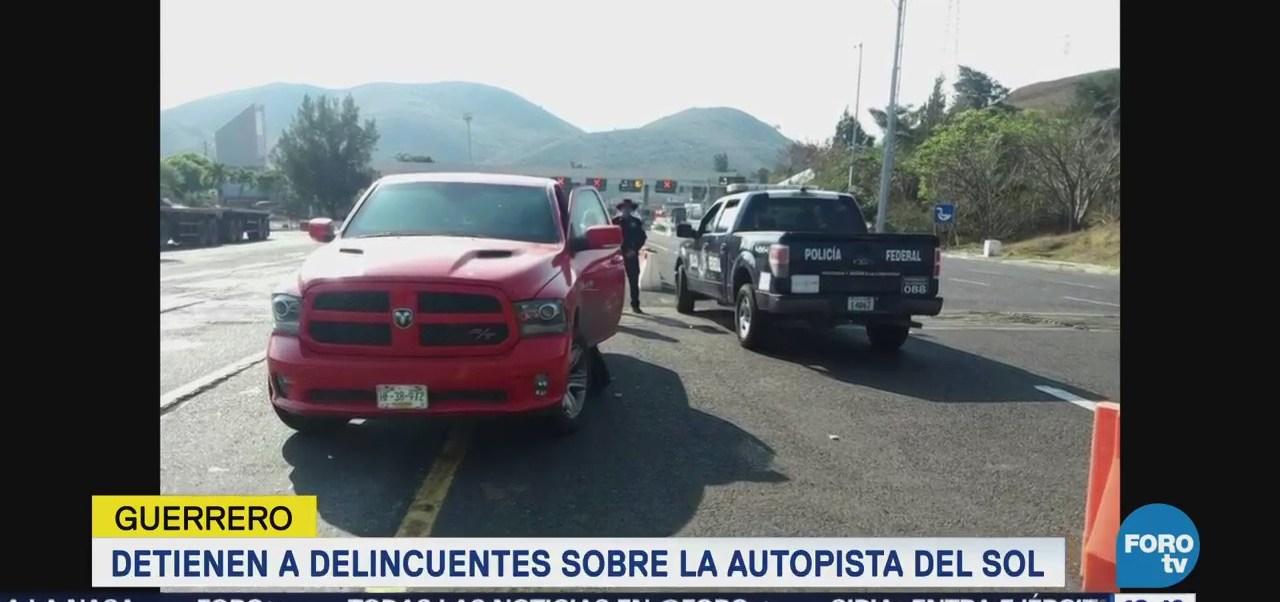 Detienen a cinco presuntos delincuentes en Guerrero