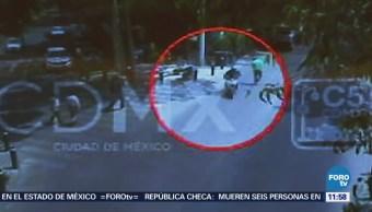 Detienen a colombiano que robó celular en la CDMX