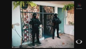 Detienen a 'El Manotas' presunto responsable del asesinato de agentes AIC