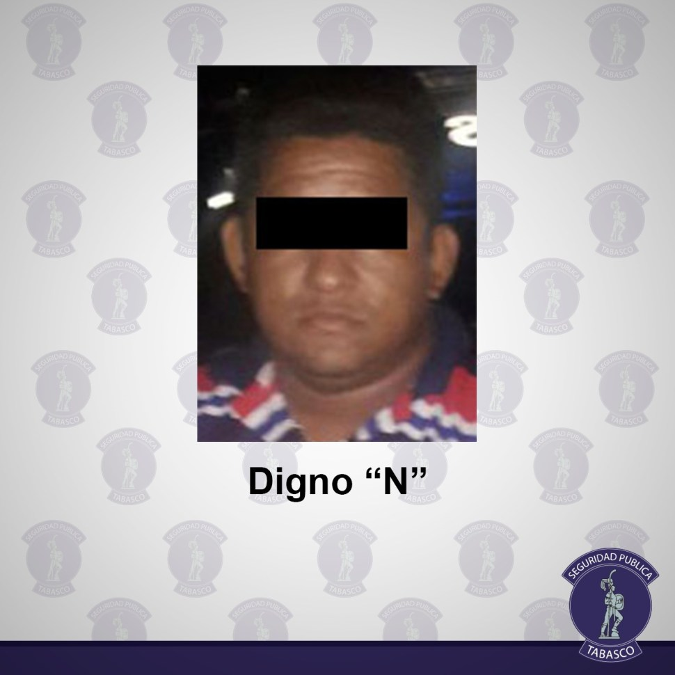 Detienen en Tabasco a un presunto traficante de migrantes
