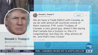 Donald Trump prevé éxito económico con Larry Kudlow