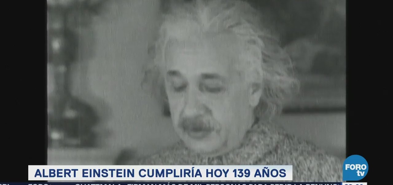 Efeméride En Una Hora: Albert Einstein