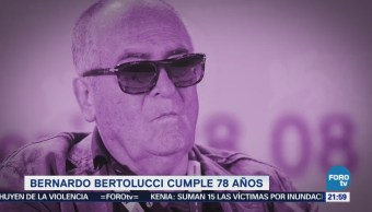 Efeméride 'En Una Hora': Bernardo Bertolucci, a 78 de su nacimiento