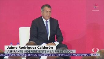 'El Bronco' denuncia actitud inequitativa del INE ante candidatos independientes