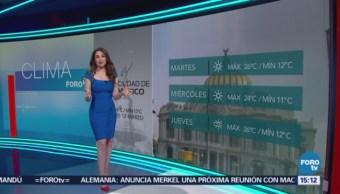 Clima A Las Tres Mayte Carranco