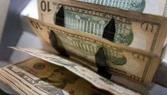 El dólar abre en 18.78 pesos
