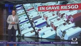 El Nuevo Mirador, viviendas inestables que dieron a damnificados de huracanes