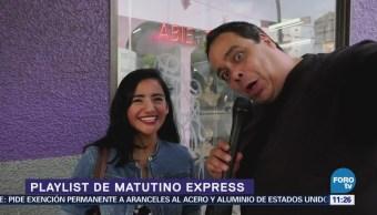 El Reporñero presenta el Playlist de la semana de Matutino Express