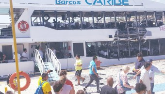 Empresarios piden celeridad en investigar la explosión de ferry