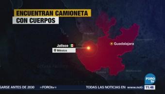 Encuentran 6 cadáveres dentro de una camioneta en Guadalajara, Jalisco
