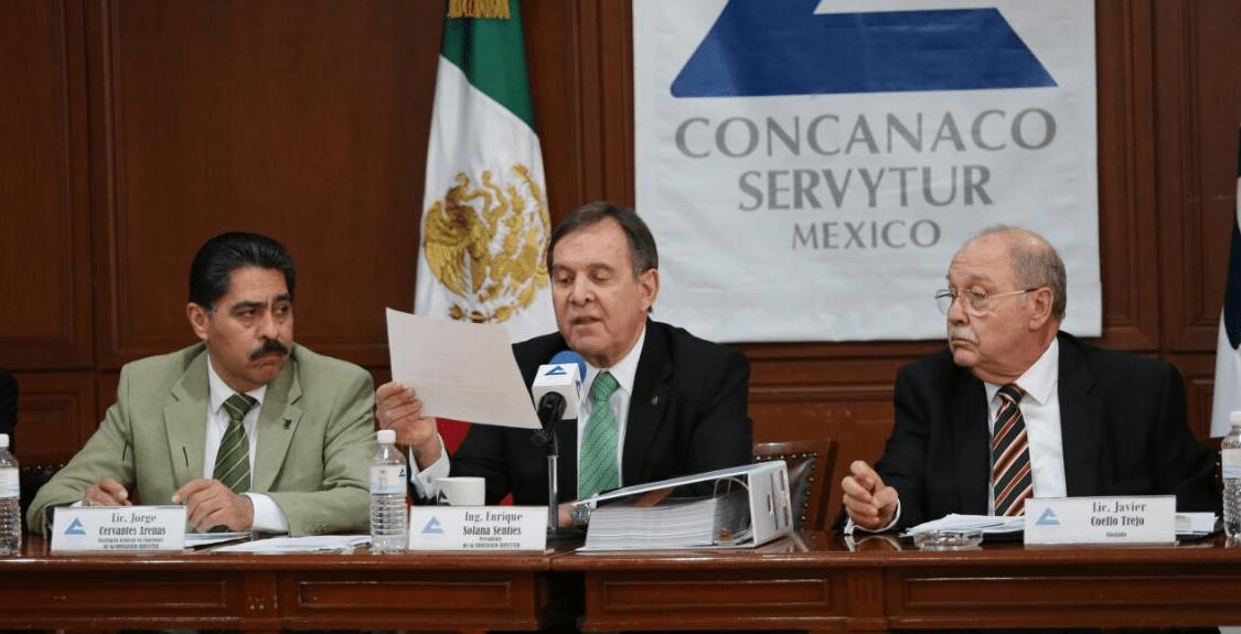 Enrique Solana afirma que desconoce contratos de Concanaco con empresa fachada