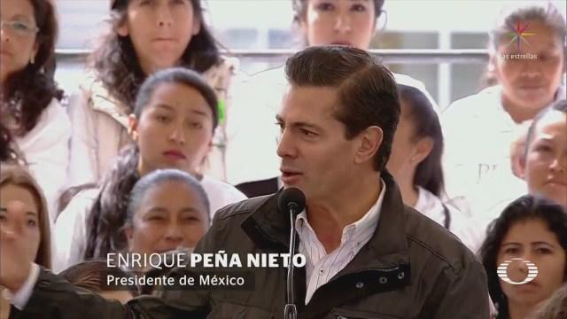 EPN describe el perfil del próximo presidente