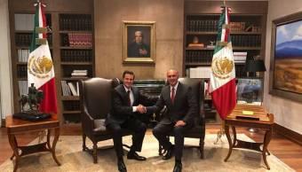 José Calzada Rovirosa renuncia a Sagarpa, lo sustituye Jorge Armando Narváez