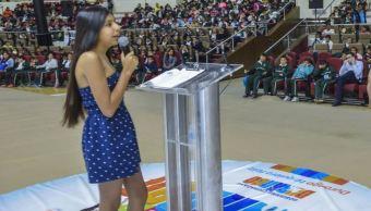 Fernanda González Viramontes promueve la igualdad de género desde su niñez