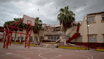 Escuelas afectadas por sismos y qué ayudan reciben, información de nueva plataforma civil