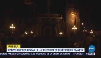 Estados apagan sus luces por la Hora del Planeta