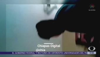 Estudiante dispara dentro de salón de clases en Chiapas