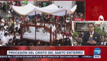 Etapa final de la Semana Santa en Taxco, Guerrero
