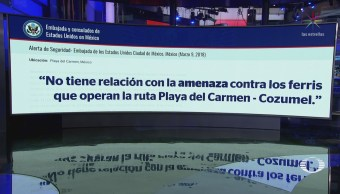 EU actualiza alerta de viaje para Playa del Carmen