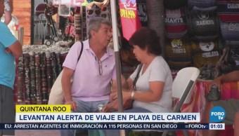 Eu Levanta Alerta Viaje Playa Carmen