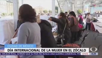 Evento en Zócalo CDMX promoverá conocimiento y ejercicio de derechos de mujeres