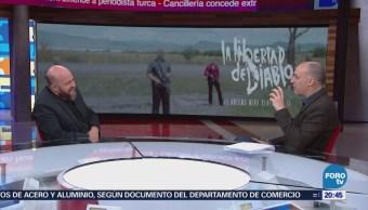 Everardo González presenta la película 'La libertad del diablo'