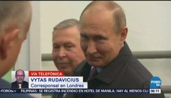 Exespía ruso continúa estado crítico tras verse expuesto a agente nervioso
