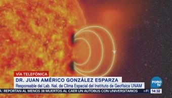 Explican Fenómeno Solar Afectará Campo Magnético Tierra