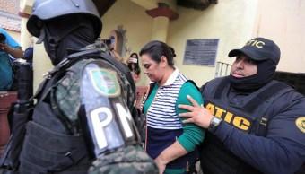 Exprimera dama de Honduras pasa su primera noche en la cárcel