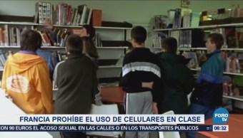 Extra Extra: Francia prohíbe el uso de celulares en clase