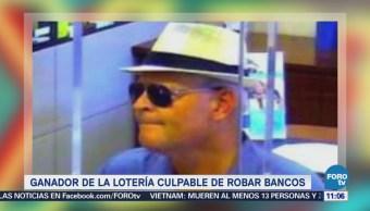 Extra Extra: Ganador de la lotería culpable de robar bancos