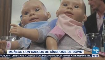 Extra Extra: Muñeco con rasgos de Síndrome de Down
